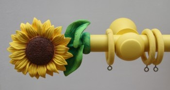 Sunflower finial