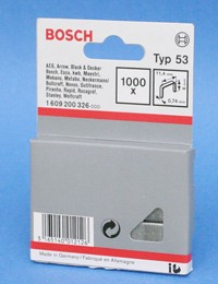 Bosch Type 53 staples